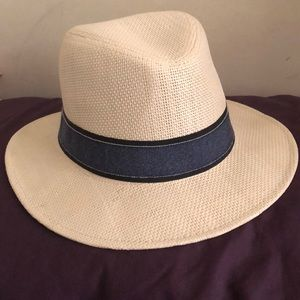 37d76a7405187c Other - Men's Straw colored fedora hat